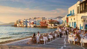 Миконос: В окружении природы и веселья