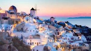 Санторини: Где небо встречается с морем