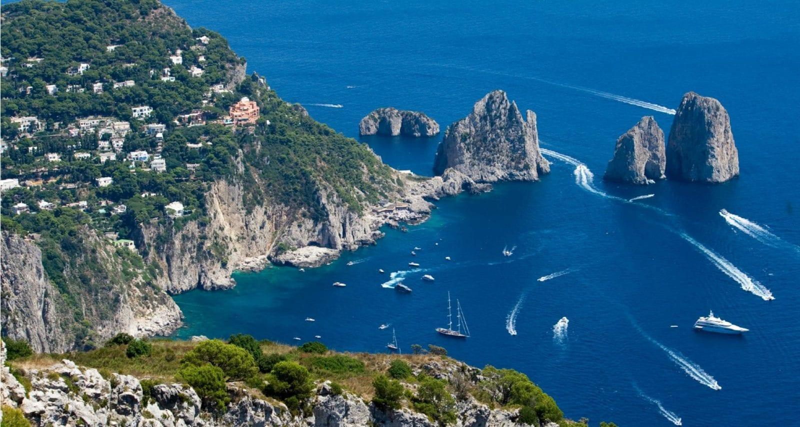 Noleggio Yacht Capri, Ischia, Isole Pontine