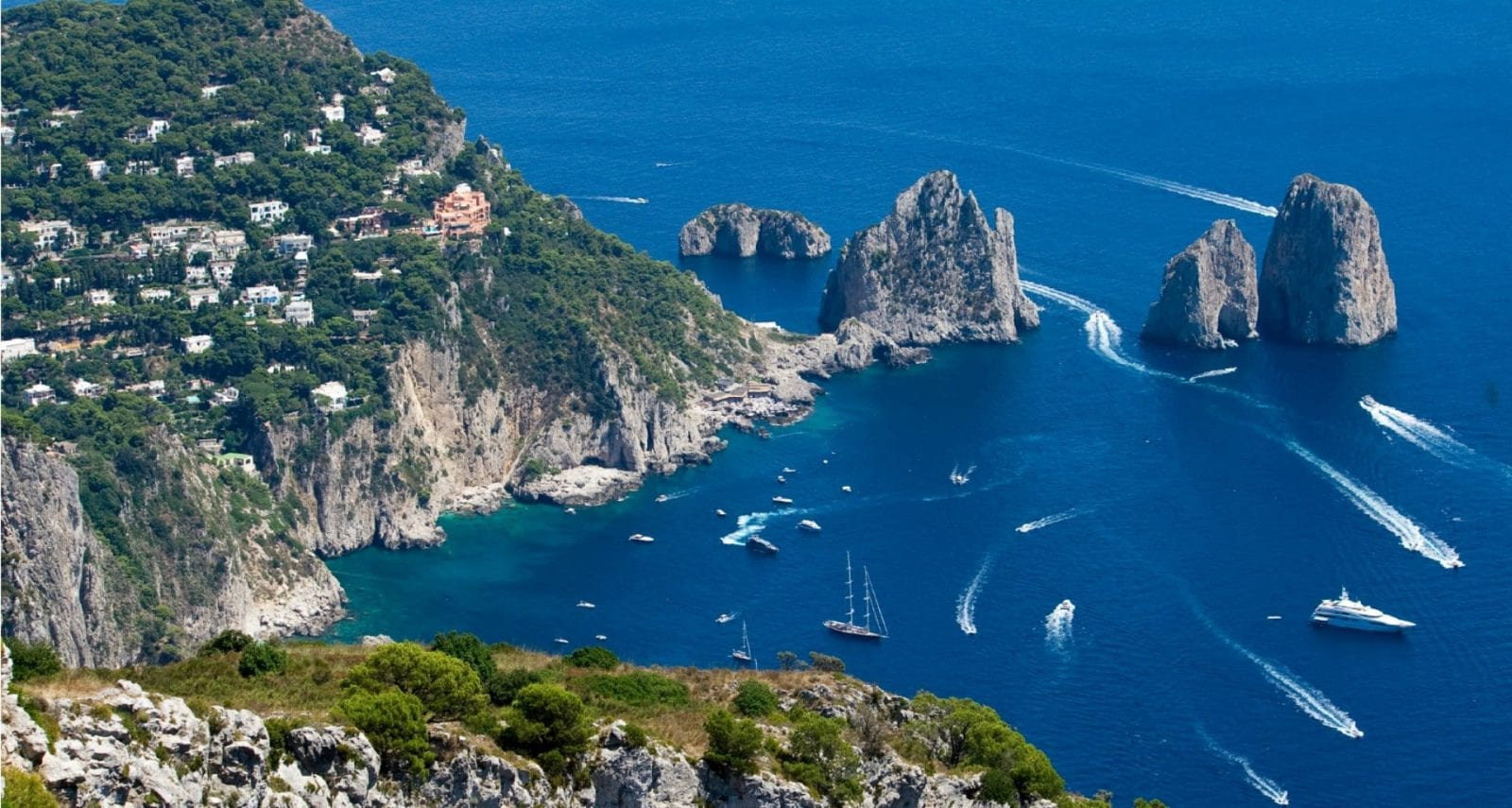 Capri, Ischia, Ponza Yacht Charter
