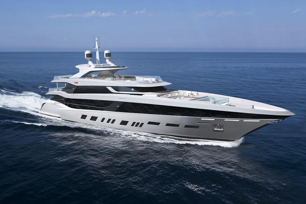 Henrik Fisker Bemetti yacht