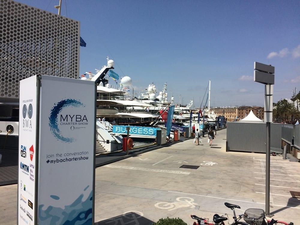 MYBA Charter Show Barcelona