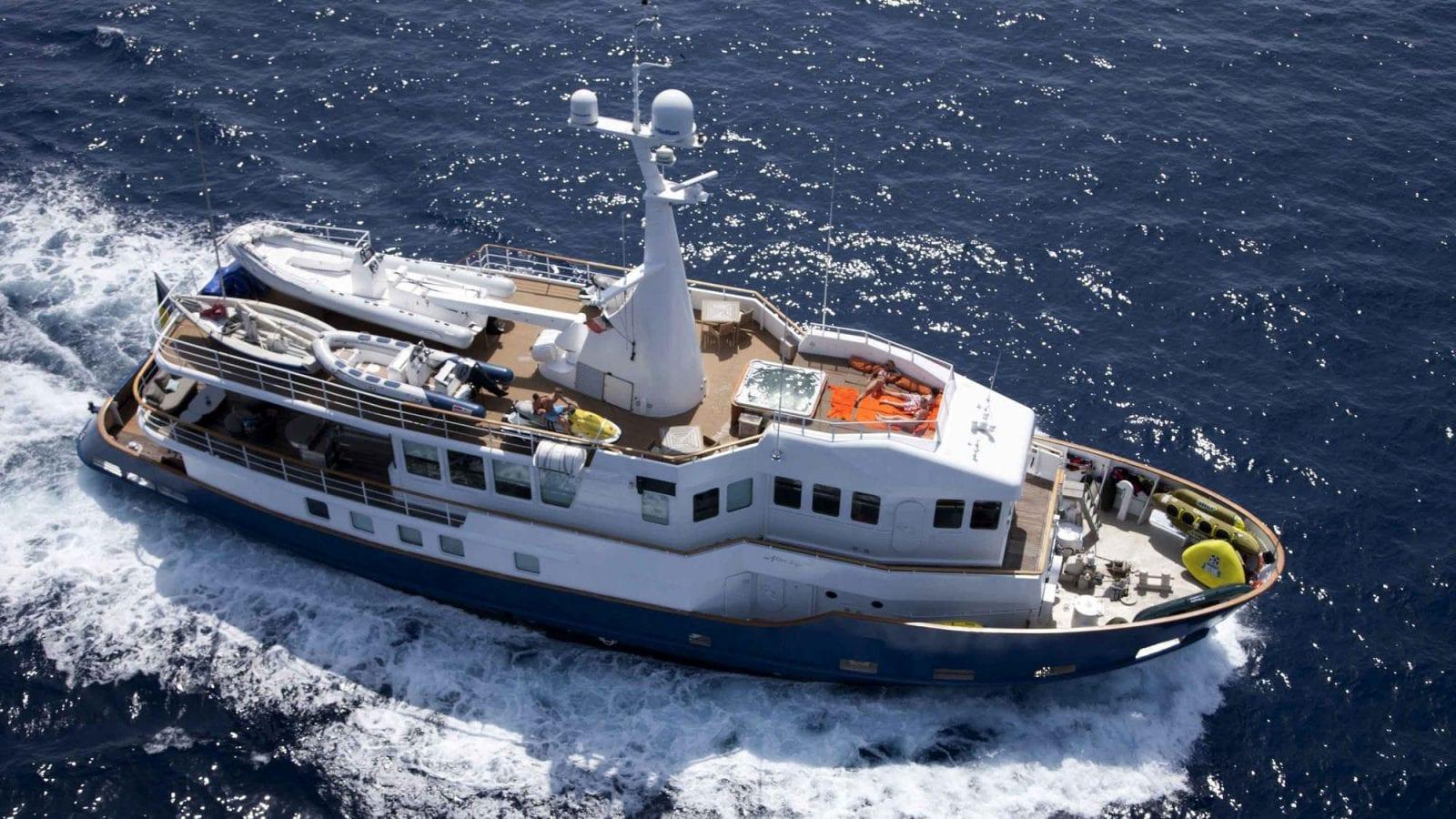 ALTER EGO J  Warnke | Motor Yacht Charter