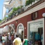 Glamorous shopping in Capri