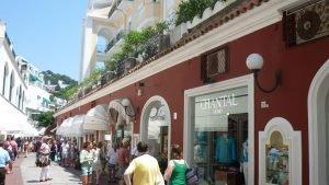 Shopping di charme a Capri