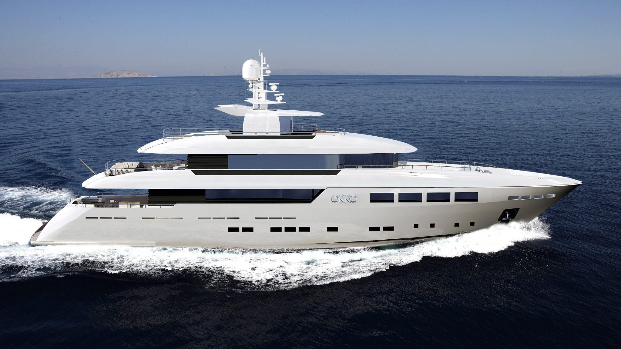 okko mondomarine luxury motor yacht
