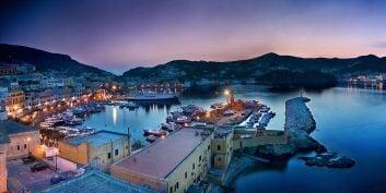 From Ischia to Ponza via Ventotene