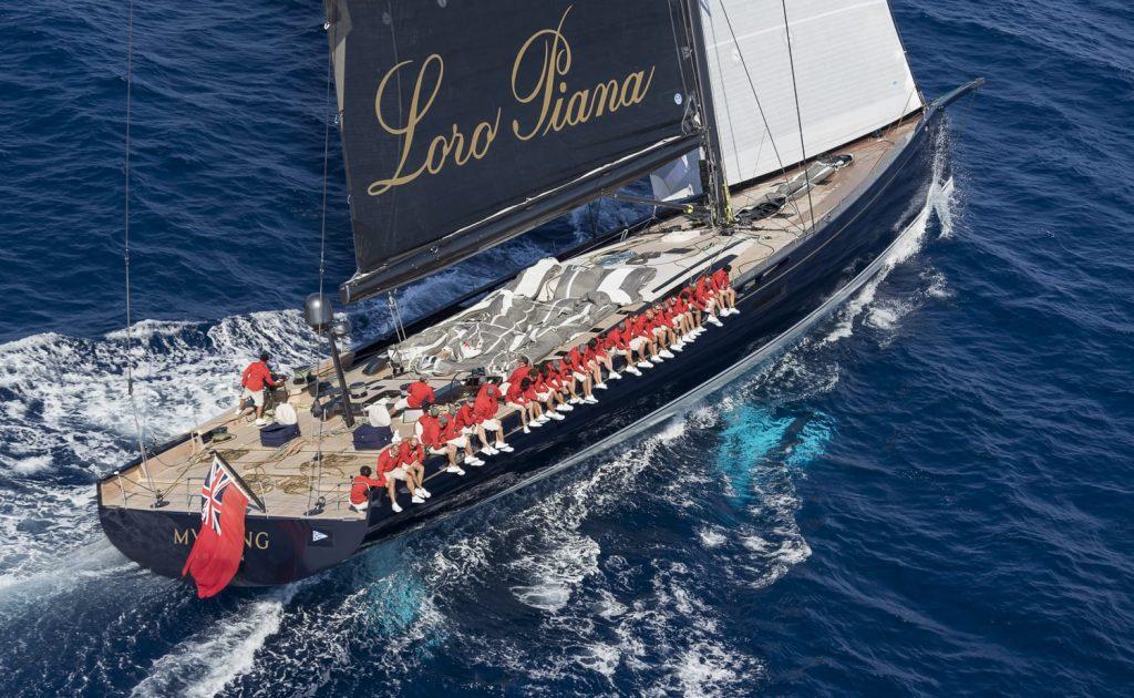 Loro Piana Superyacht Regatta 2017