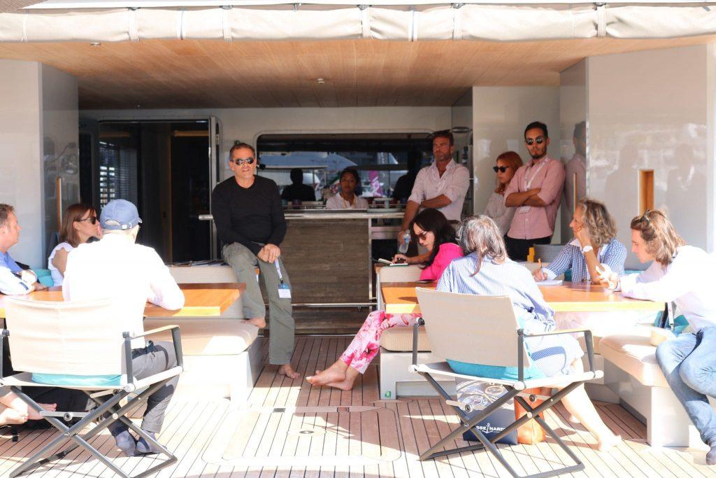 riza tansu at the monaco yacht show 2017