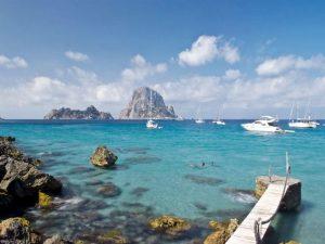 In yacht alla scoperta dei parchi naturali di Ibiza