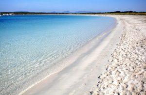 Sailing around the Balearics Islands, Ibiza's most beautiful beaches