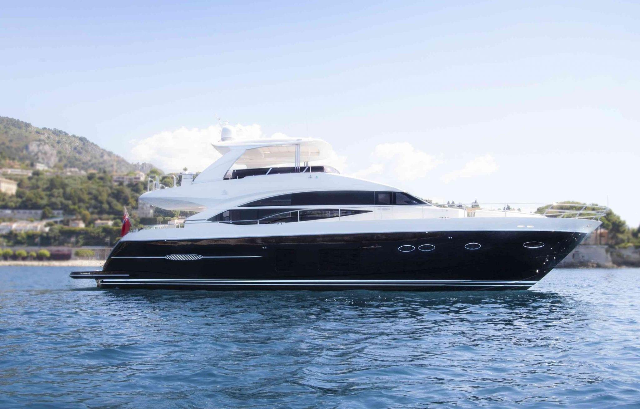 Moka Princess Yachts 72 Luxury Yacht Charter