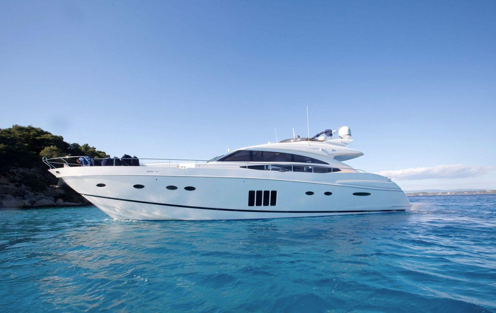 Catherine Princess Yacht Charter Ssy