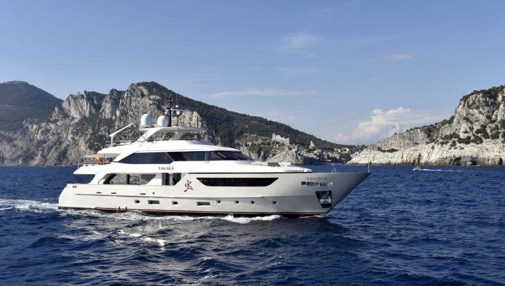 takara balearics yacht charter