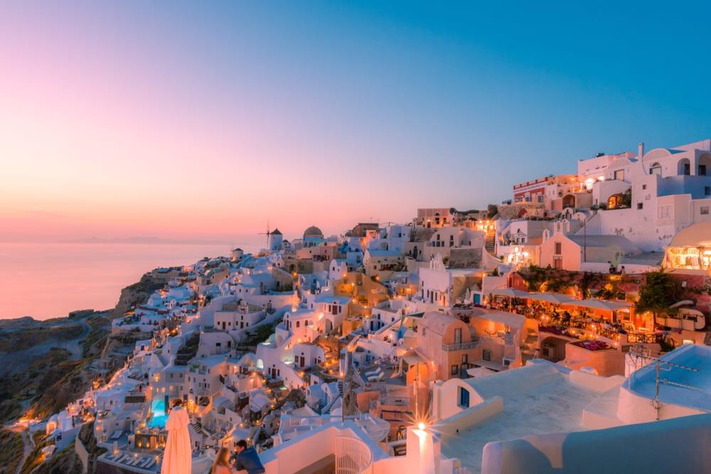 Ssy Santorini Yacht Charter Sunset