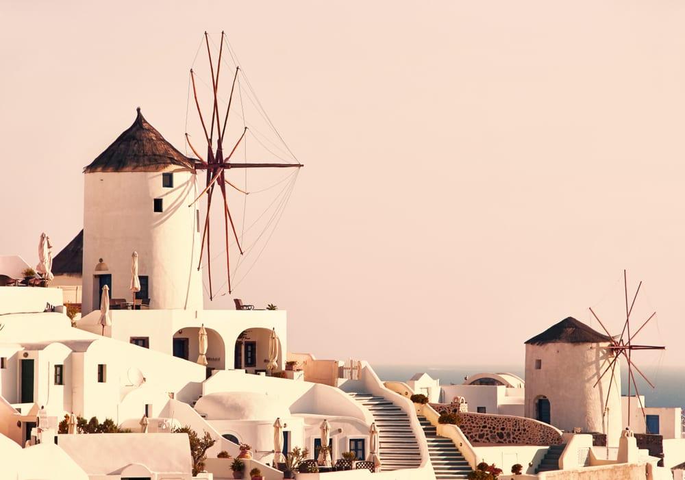 Ssy Santorini Yacht Charter Windmills