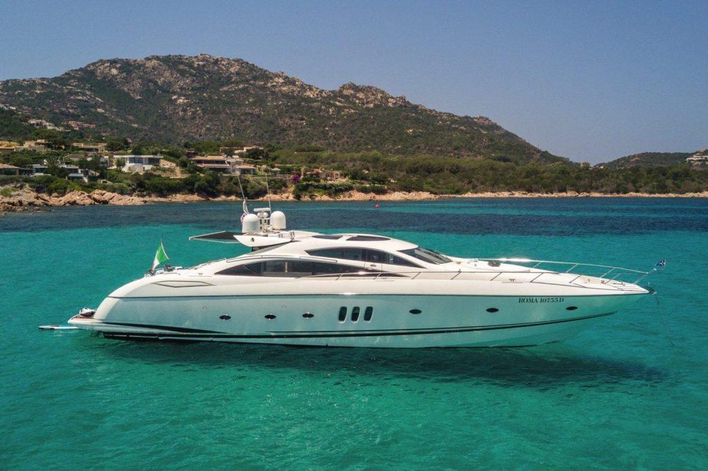 Silver Star Yachting – Italian Yacht Charter - The 25-metre Sunseeker 82 OCTAVIA motor yacht