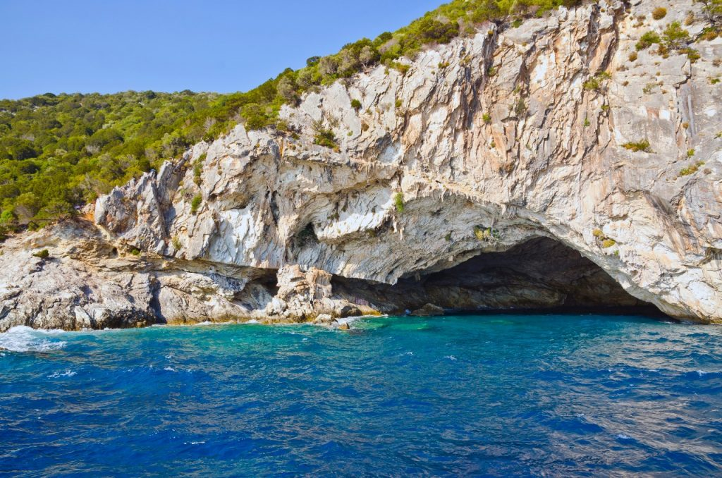 Papanikolis Cave, Meganisi On A Greece Yacht Charter