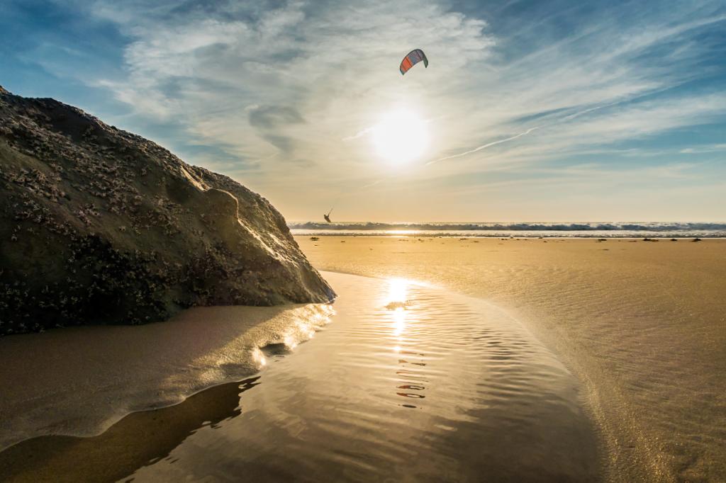 Kitesurfing In Tarifa On A Mediterranean Adventure Holiday