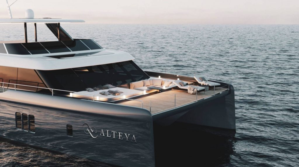 Foredeck Of Alteya Yacht For Charter In Greece