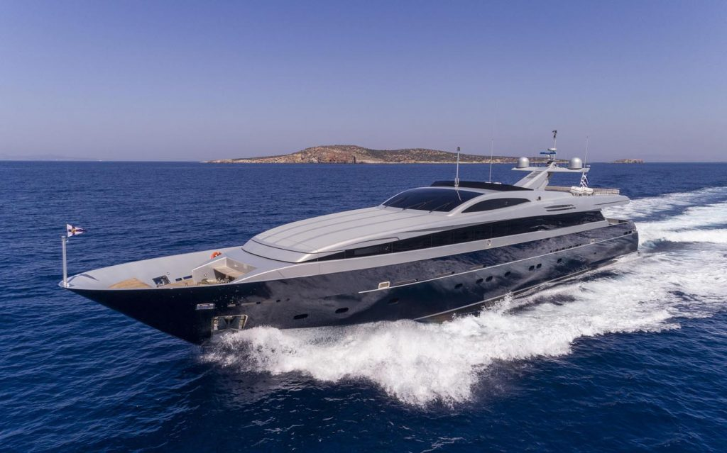 Billa Underway Motor Yacht For Charter In Greece