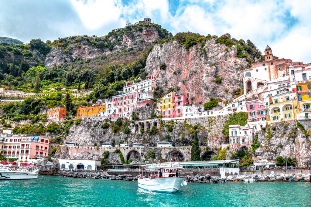 Amalfi On A Private Yacht Tour Of Italy