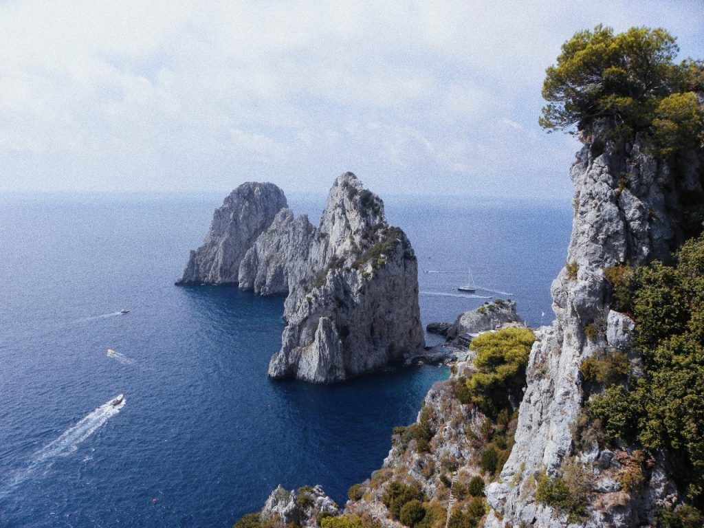 Natural Sights On A Yacht Tour Of Italy